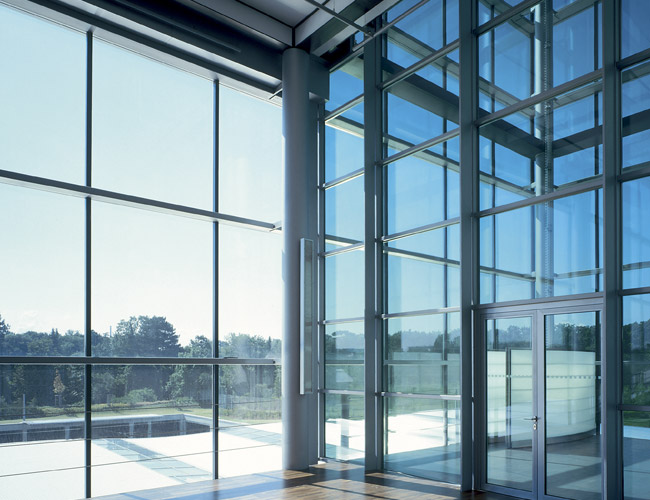 Laminated fire-resistant glass