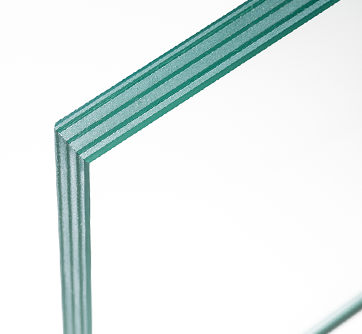 Laminated flame retardant glass
